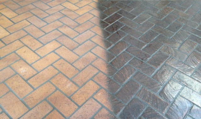 Herringbone Before & After